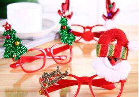 Christmas eyeglass frames