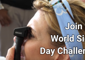 Join the World Sight Day Challenge – picture of an eye exam